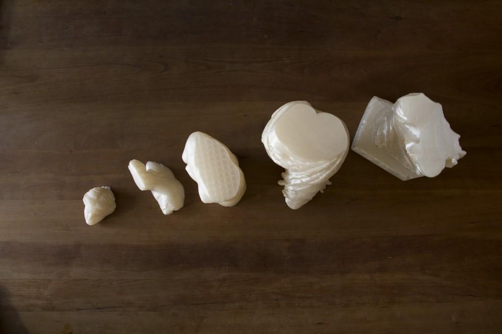 The 3d printed parts of Venus de Milo