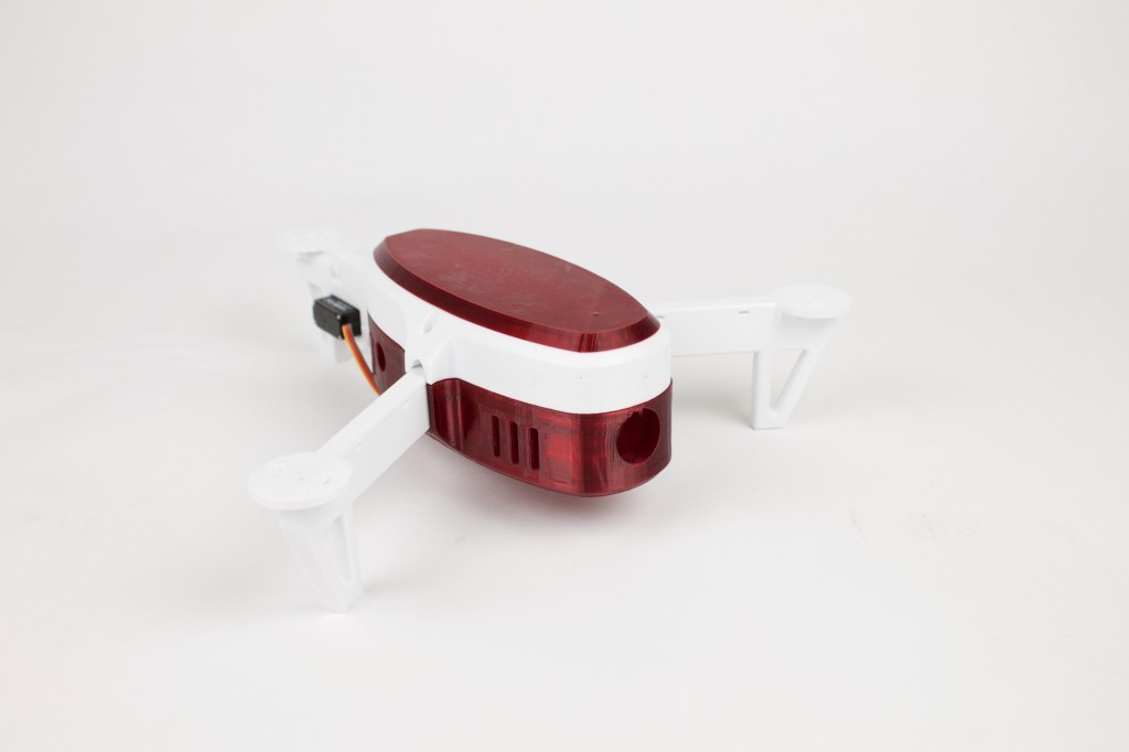 Mini FPV Tricopter made with colorFabb XT